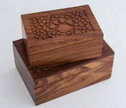 Wooden Pet Urn Collection