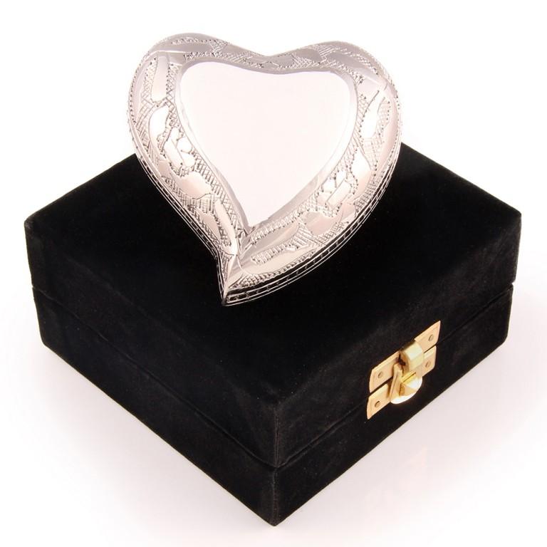 cremation keepsake heart