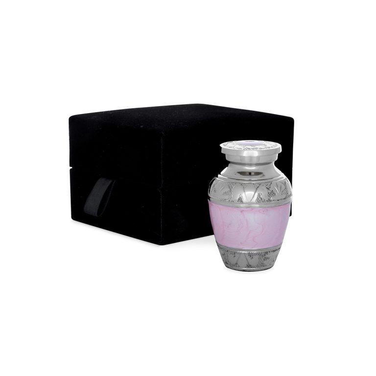 keepsake pink urn