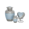 pet urns blue