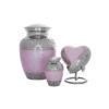 pet urns pink