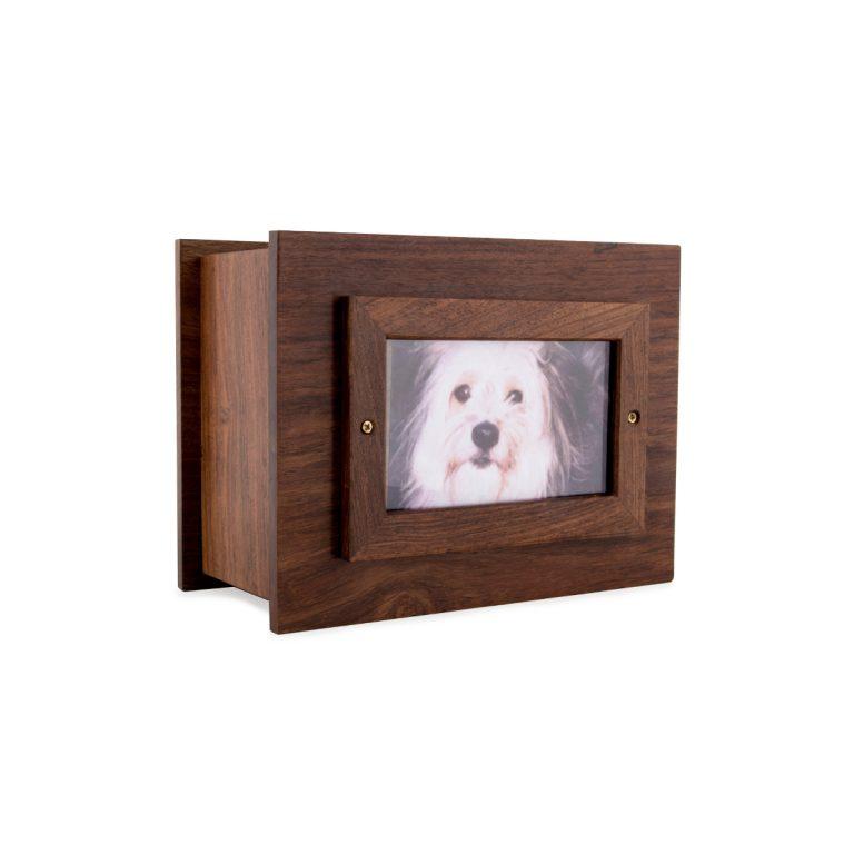 wood urn for pet c