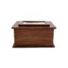wood urn for pet e